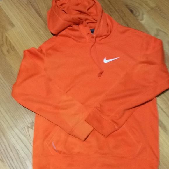 Men's small orange Nike Hoodie